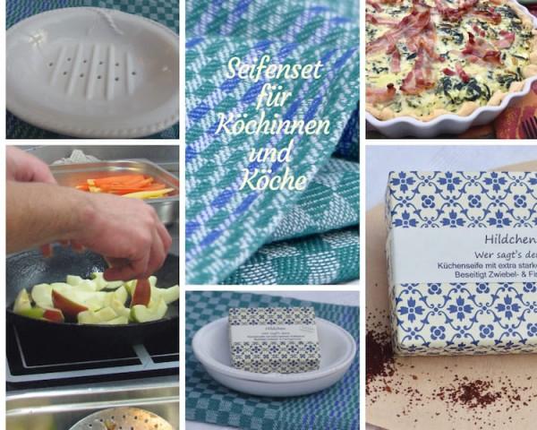 Seifenset für Köchinnen und Köche
