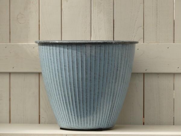 Steel Pot Vintage himmelblau L
