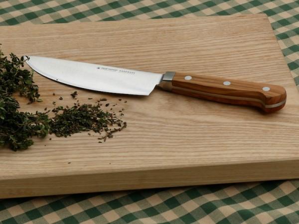 Kräuter-Messer mit Olivenholzgriff