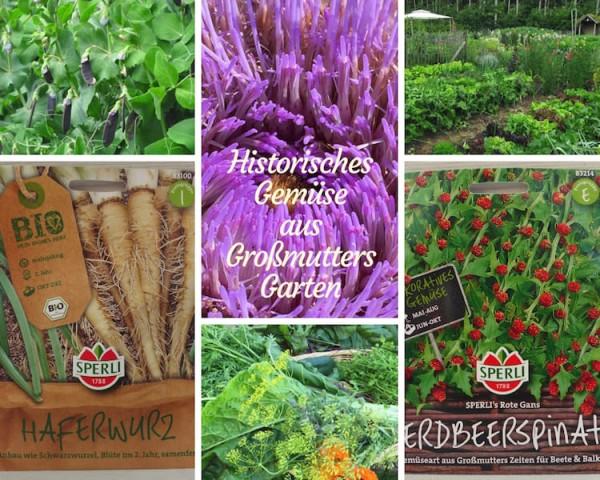 Historisches Gemüse