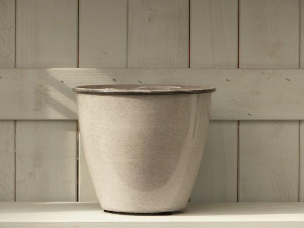 Steel Pot Tati 22 cm weiß/grau