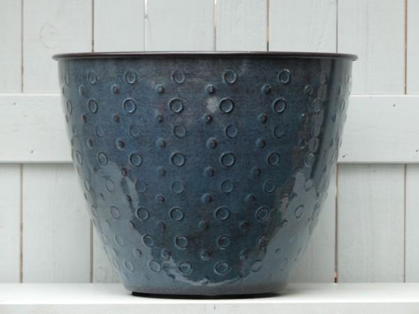 Steel Pot Shiva zen blue