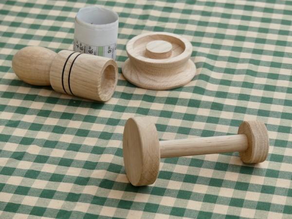 Geschenkset Paper Potter plus Andrückholz